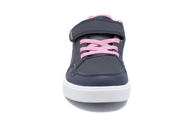 Baskets Kappa Virgaho Bleu vue portées chaussures