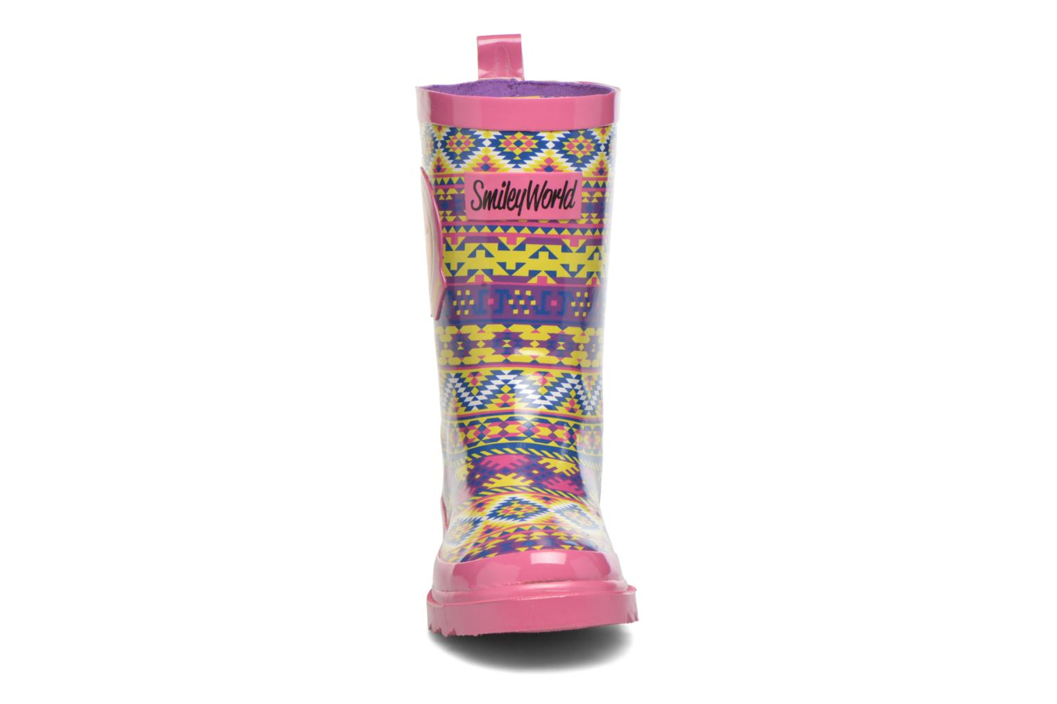 Bottes Be Only Smiley Cool Multicolore vue portées chaussures