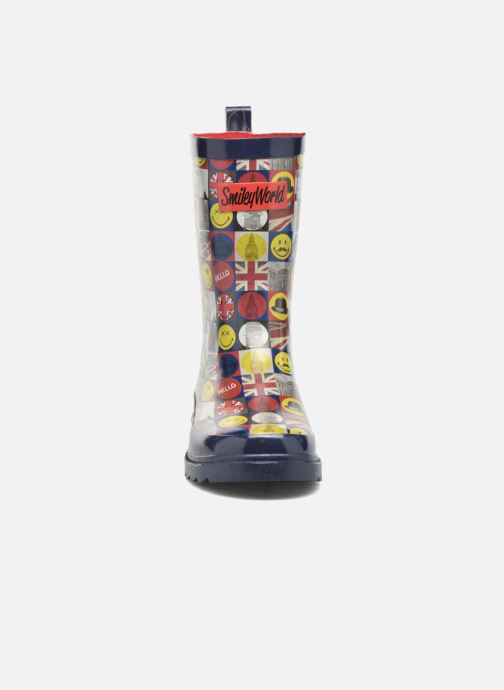 Bottes Be Only Smiley London Multicolore vue portées chaussures