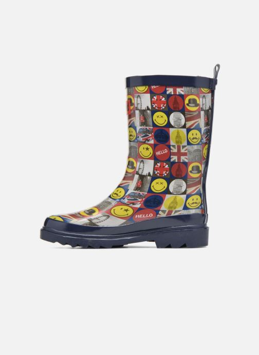 Bottes Be Only Smiley London Multicolore vue face