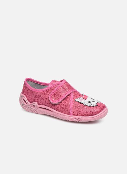 Hjemmesko Superfit Belinda Pink detaljeret billede af skoene