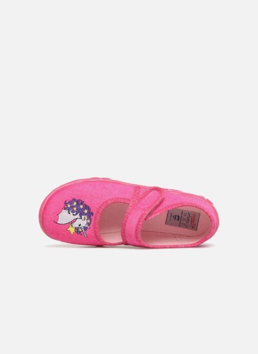 Pantofole Superfit Belinda2 Rosa immagine sinistra