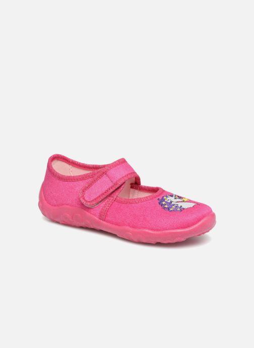 Hjemmesko Superfit Belinda2 Pink detaljeret billede af skoene