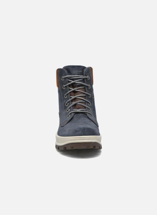 Bottines et boots Superfit Tedd Bleu vue portées chaussures