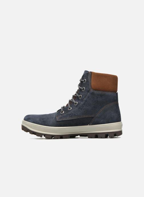 Bottines et boots Superfit Tedd Bleu vue face