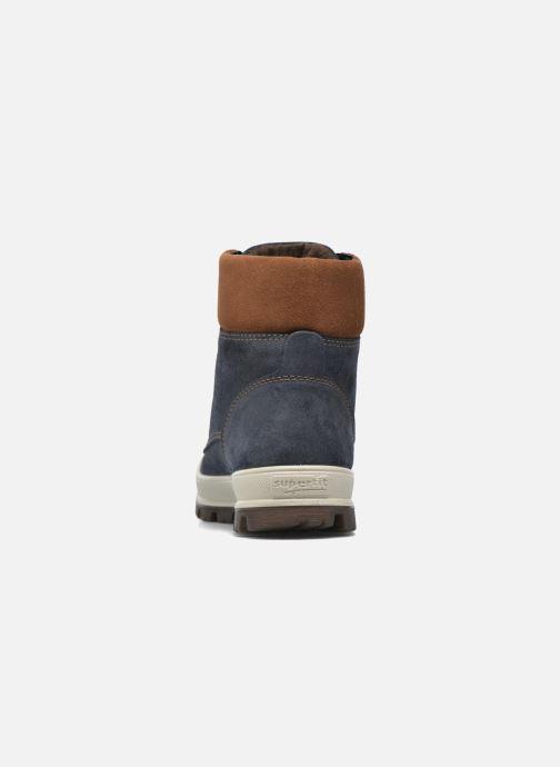 Bottines et boots Superfit Tedd Bleu vue droite