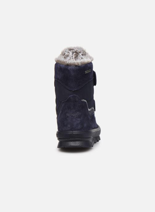 Stiefeletten & Boots Superfit Flavia blau ansicht von rechts