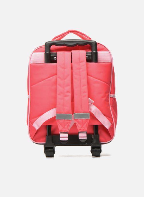 Skoletasker Disney FROZEN CORAL - BACKPACK TROLLEY Pink se forfra