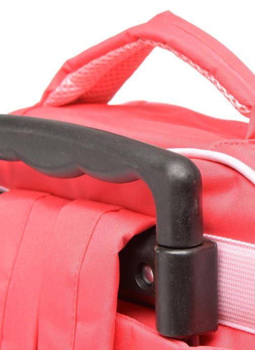 Skoletasker Disney FROZEN CORAL - BACKPACK TROLLEY Pink se fra venstre