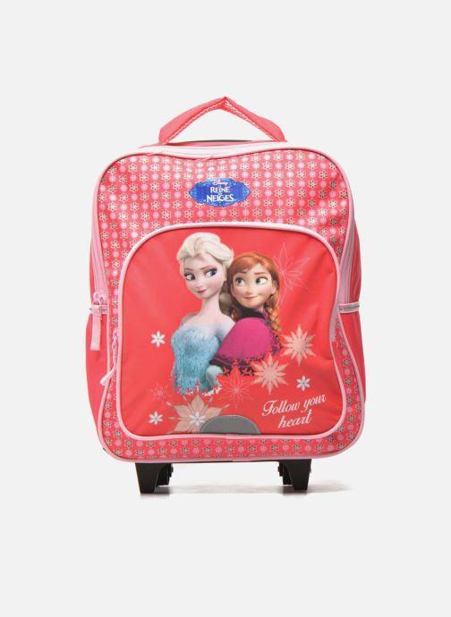 Skoletasker Disney FROZEN CORAL - BACKPACK TROLLEY Pink detaljeret billede af skoene