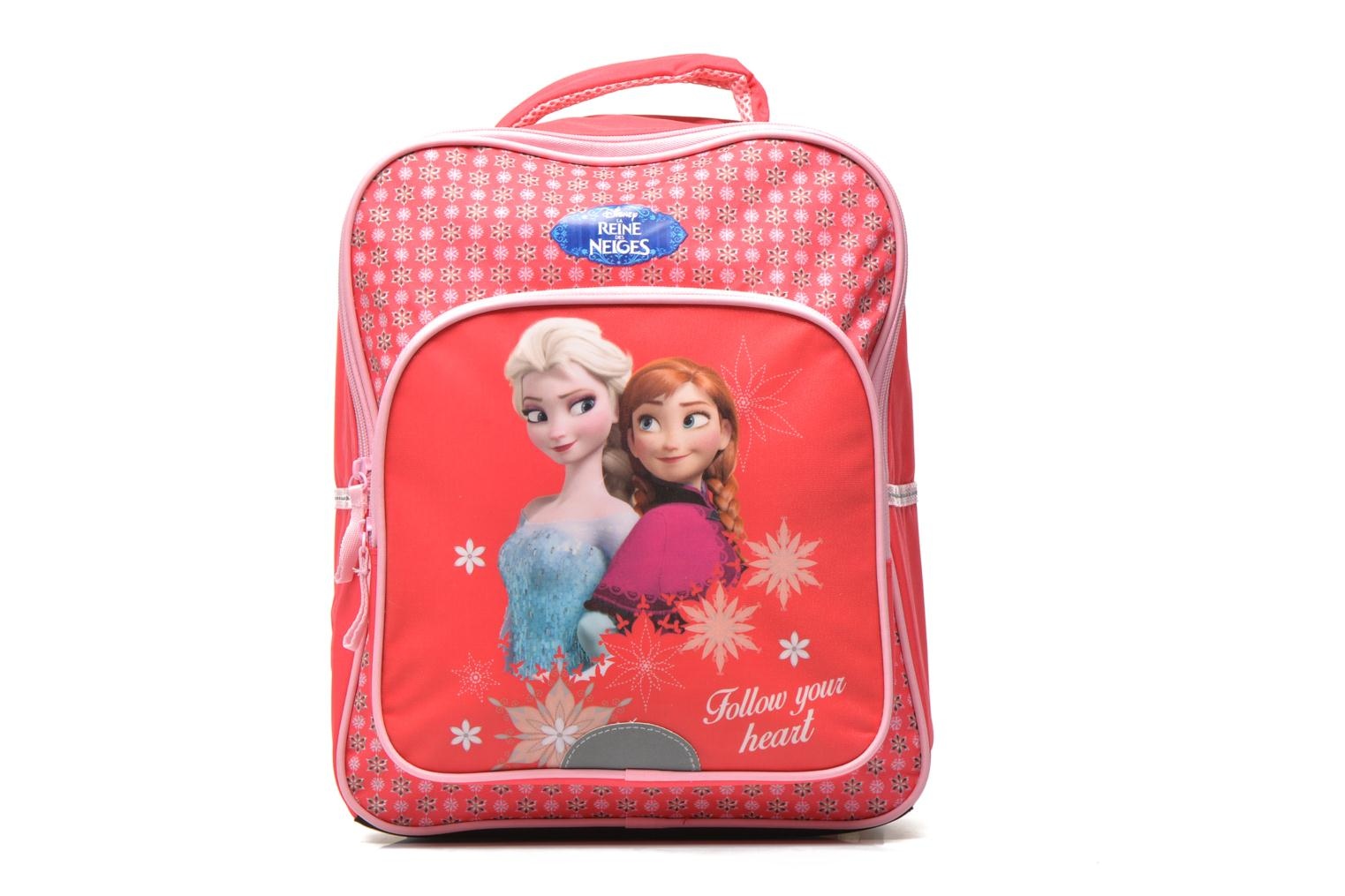 Schooltassen Disney FROZEN CORAL - BACKPACK 35 CM Roze detail