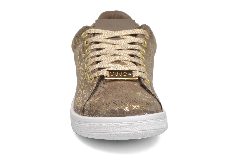 Baskets Liu Jo Sneaker Lacci capri folio Gris vue portées chaussures