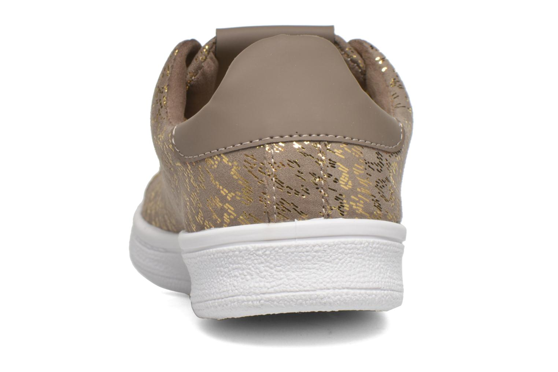 Baskets Liu Jo Sneaker Lacci capri folio Gris vue droite