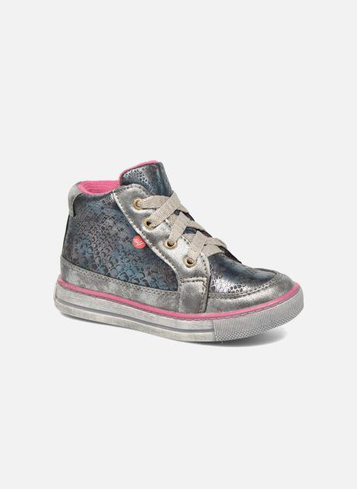 Sneakers NA! Rimel Sølv detaljeret billede af skoene
