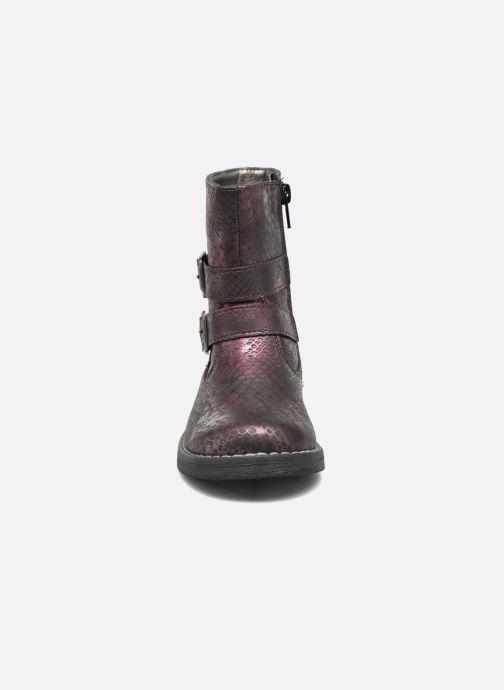 Bottes NA! Rianne Violet vue portées chaussures