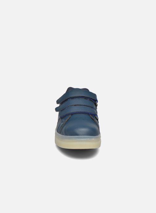 Sneakers Beppi Beps Light Azzurro modello indossato