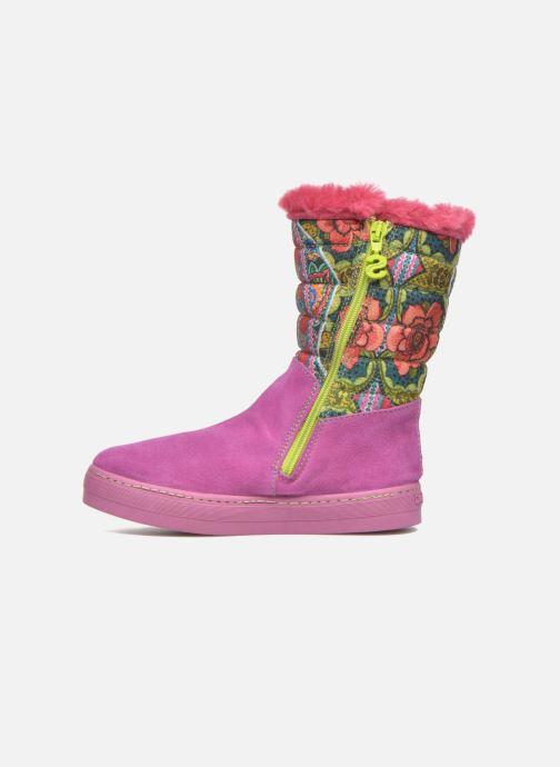 Laarzen Desigual Winter Roze voorkant
