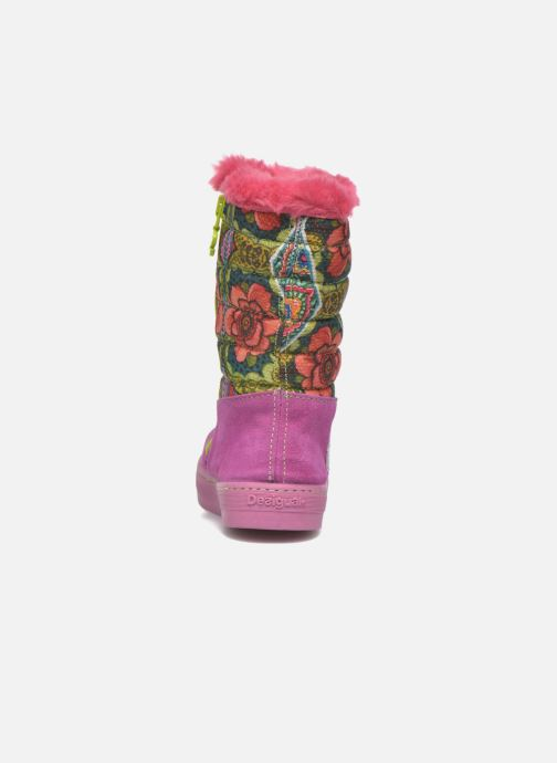 Laarzen Desigual Winter Roze rechts