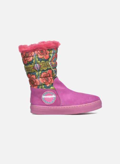 Laarzen Desigual Winter Roze achterkant