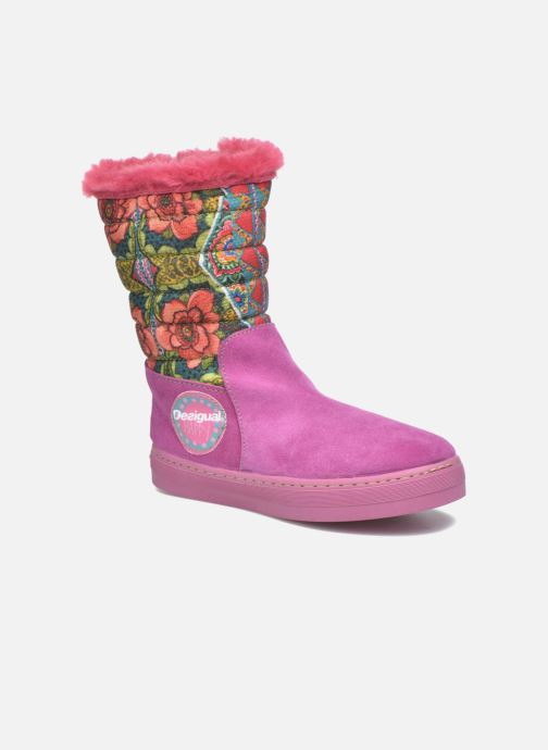 Bottes Desigual Winter Rose vue détail/paire
