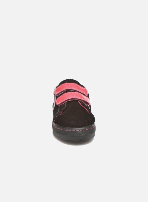 Baskets Desigual Silver Mini Noir vue portées chaussures