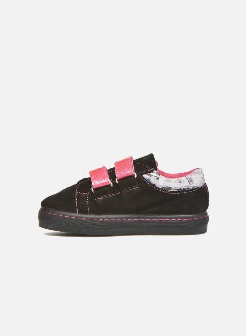 Sneakers Desigual Silver Mini Zwart voorkant