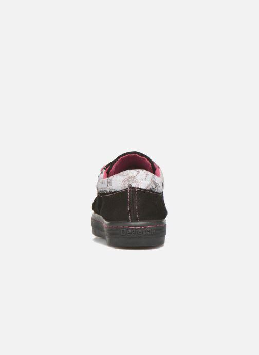 Sneakers Desigual Silver Mini Zwart rechts