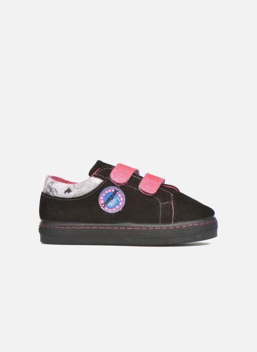 Sneaker Desigual Silver Mini schwarz ansicht von hinten