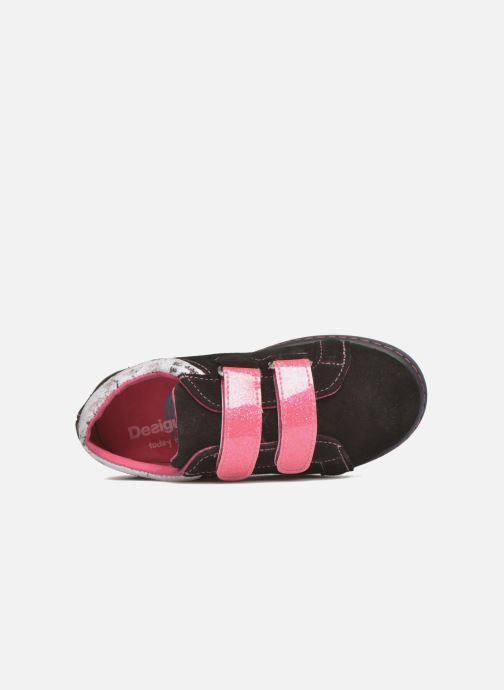 Sneaker Desigual Silver Mini schwarz ansicht von links