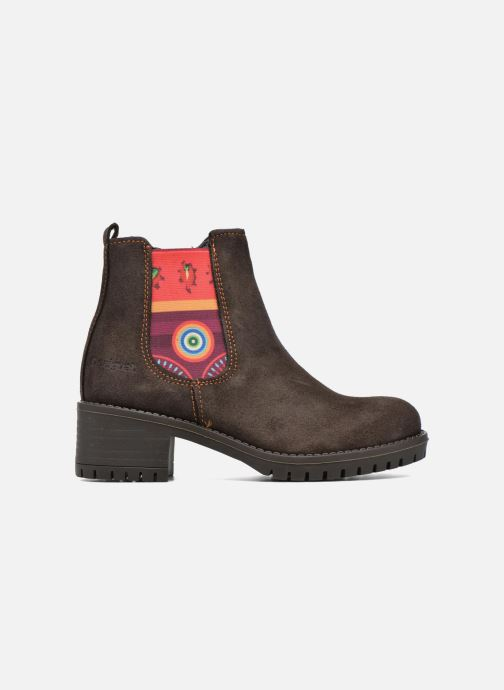 Bottines et boots Desigual Chelsea Marron vue derrière