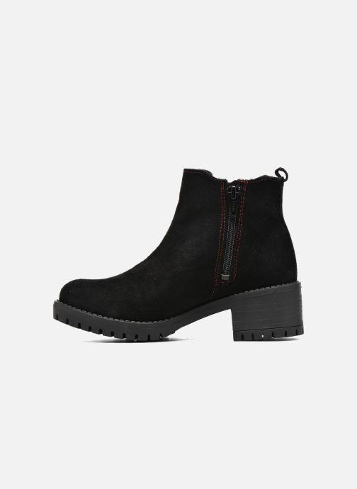 Bottines et boots Desigual Chelsea Noir vue face