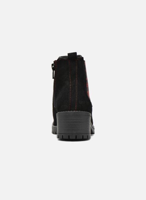 Bottines et boots Desigual Chelsea Noir vue droite