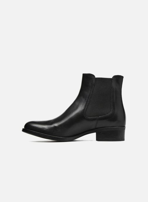 Bottines et boots Georgia Rose Abea Noir vue face