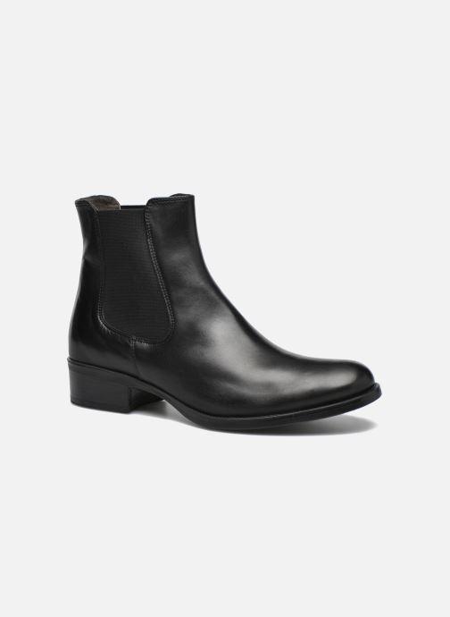 Bottines et boots Georgia Rose Abea Noir vue détail/paire