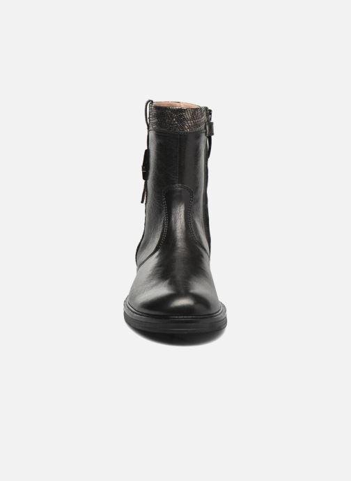Bottes Romagnoli Caterina Noir vue portées chaussures