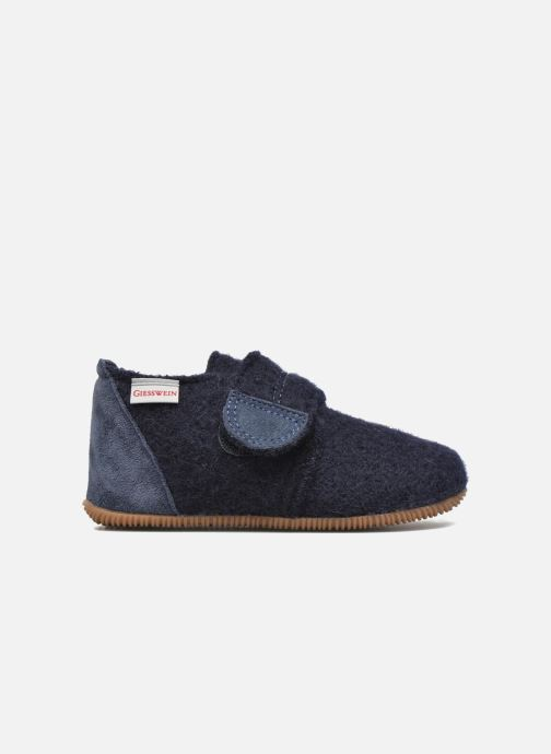 Pantofole Giesswein Oberstaufen Azzurro immagine posteriore