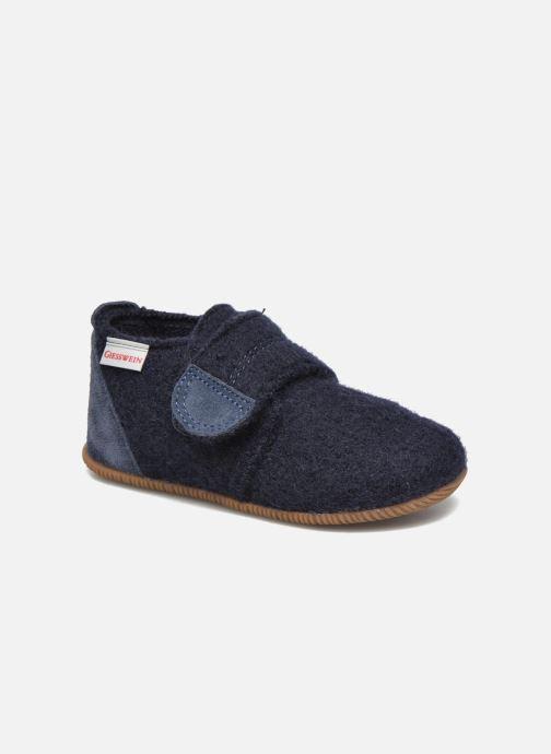 Pantofole Giesswein Oberstaufen Azzurro vedi dettaglio/paio