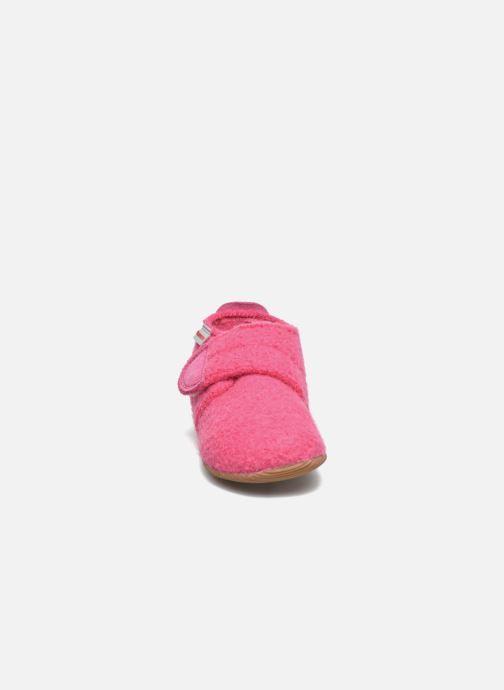 Hausschuhe Giesswein Oberstaufen rosa schuhe getragen