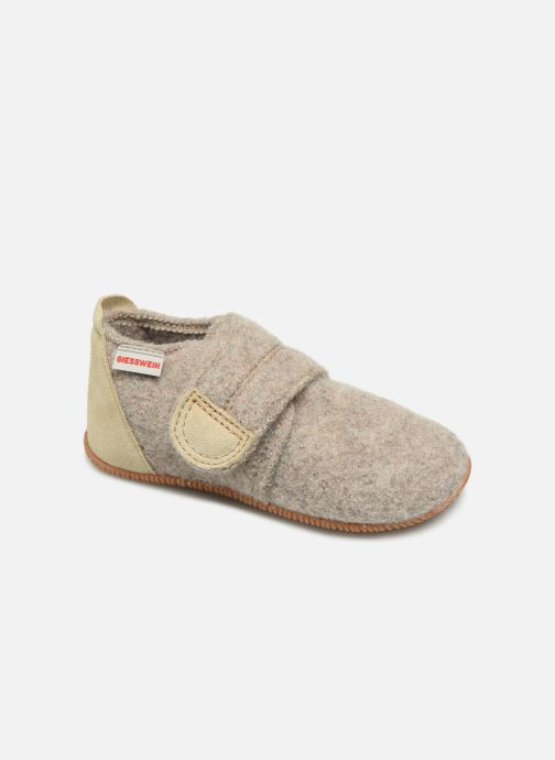 Pantofole Giesswein Oberstaufen Beige vedi dettaglio/paio