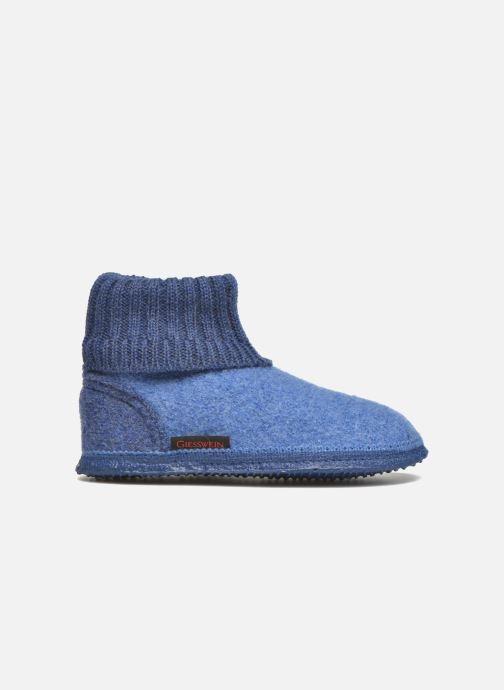 Pantofole Giesswein Kramsach2 Azzurro immagine posteriore