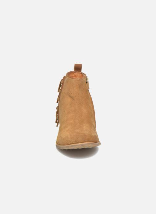 Bottines et boots Shwik Odeon Fringe Beige vue portées chaussures