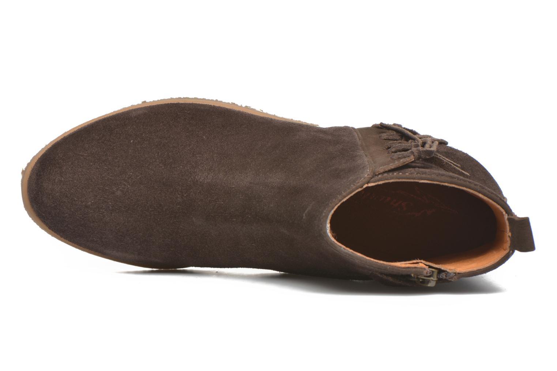 Boots en enkellaarsjes Shwik Odeon Fringe Bruin links
