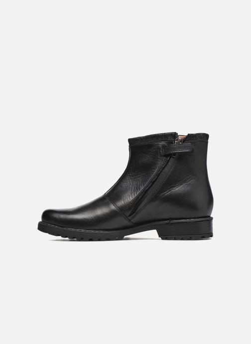 Boots en enkellaarsjes Shwik Stampa Zip Zwart voorkant