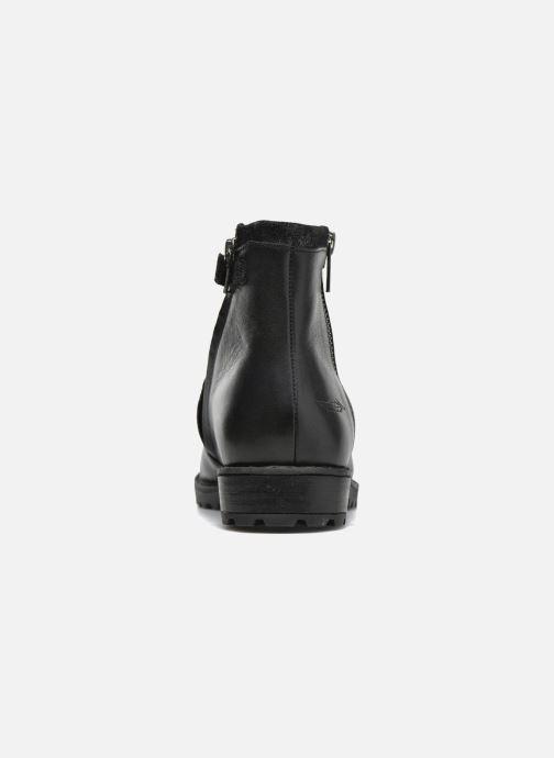 Boots en enkellaarsjes Shwik Stampa Zip Zwart rechts