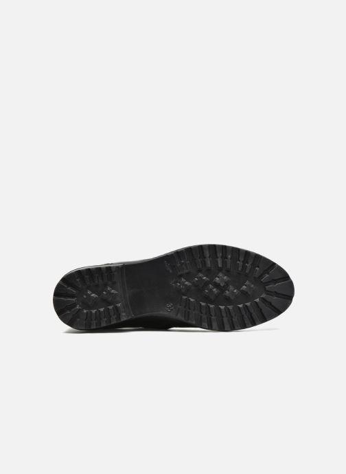 Bottines et boots Shwik Stampa Zip Noir vue haut