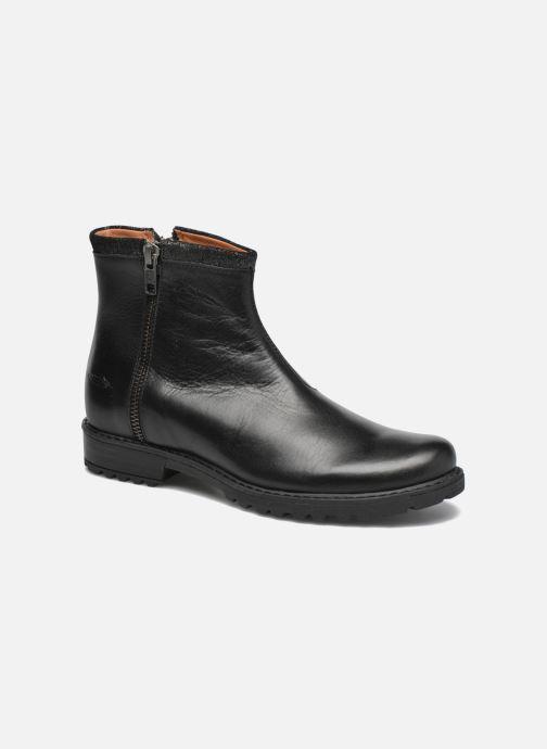 Ankelstøvler Shwik Stampa Zip Sort detaljeret billede af skoene