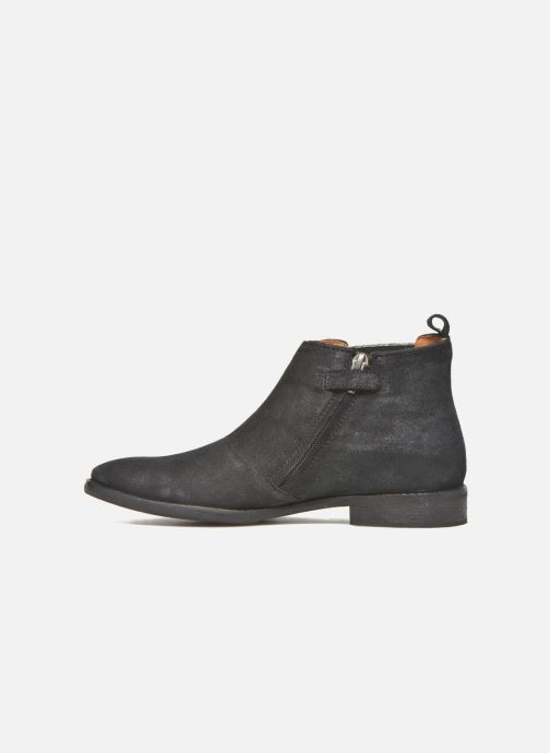 Ankle boots Shwik Mia Brogue Zip Black front view