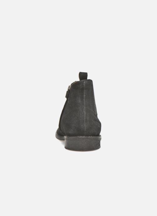 Bottines et boots Shwik Mia Brogue Zip Noir vue droite