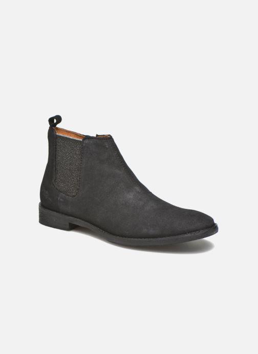 Bottines et boots Shwik Mia Brogue Zip Noir vue détail/paire