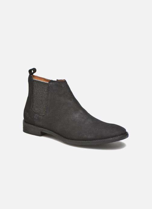 Ankle boots Shwik Mia Brogue Zip Black detailed view/ Pair view